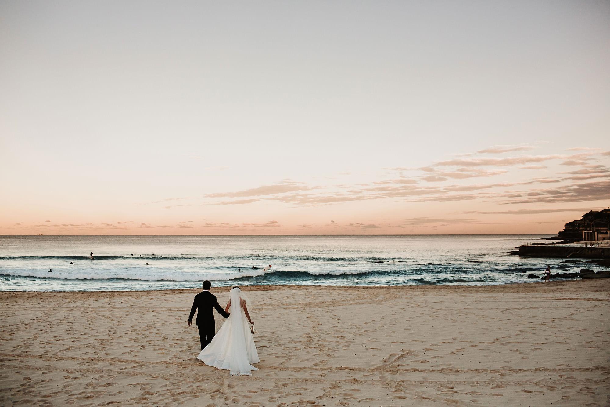 bondi beach wedding  free elopement ceremony locations in Sydney