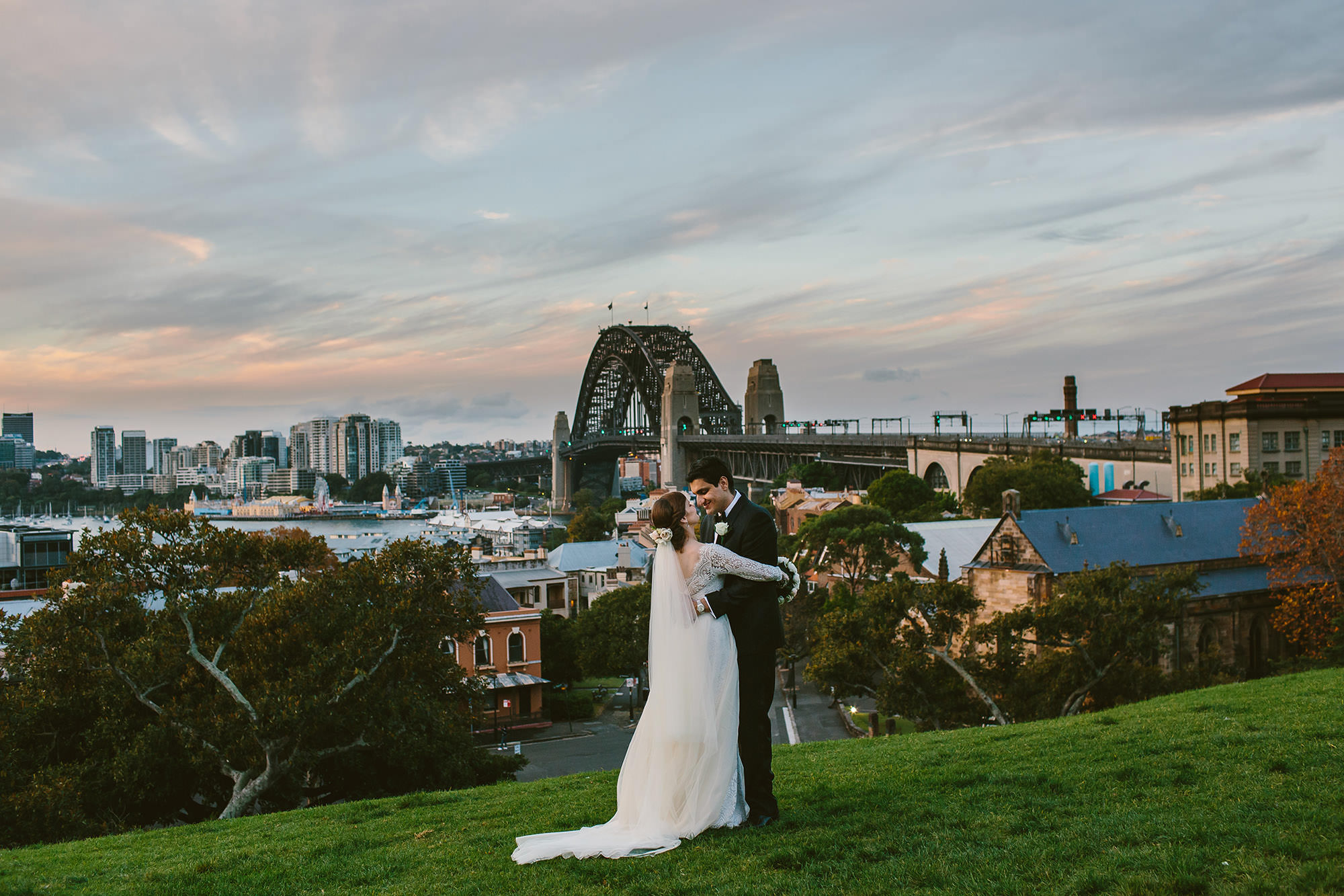 Small wedding venues Sydney observatory hill