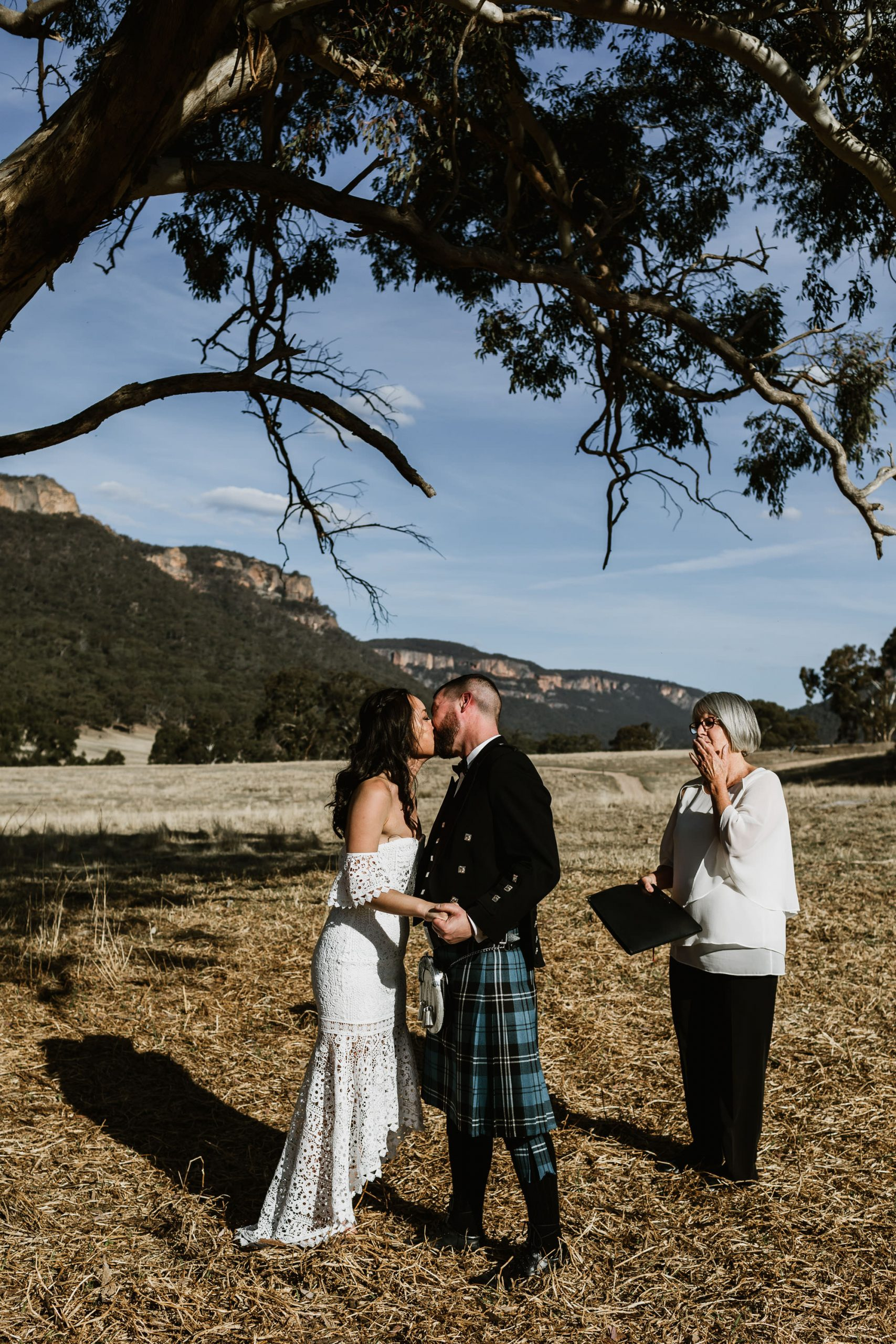Wolgan Valley elopement