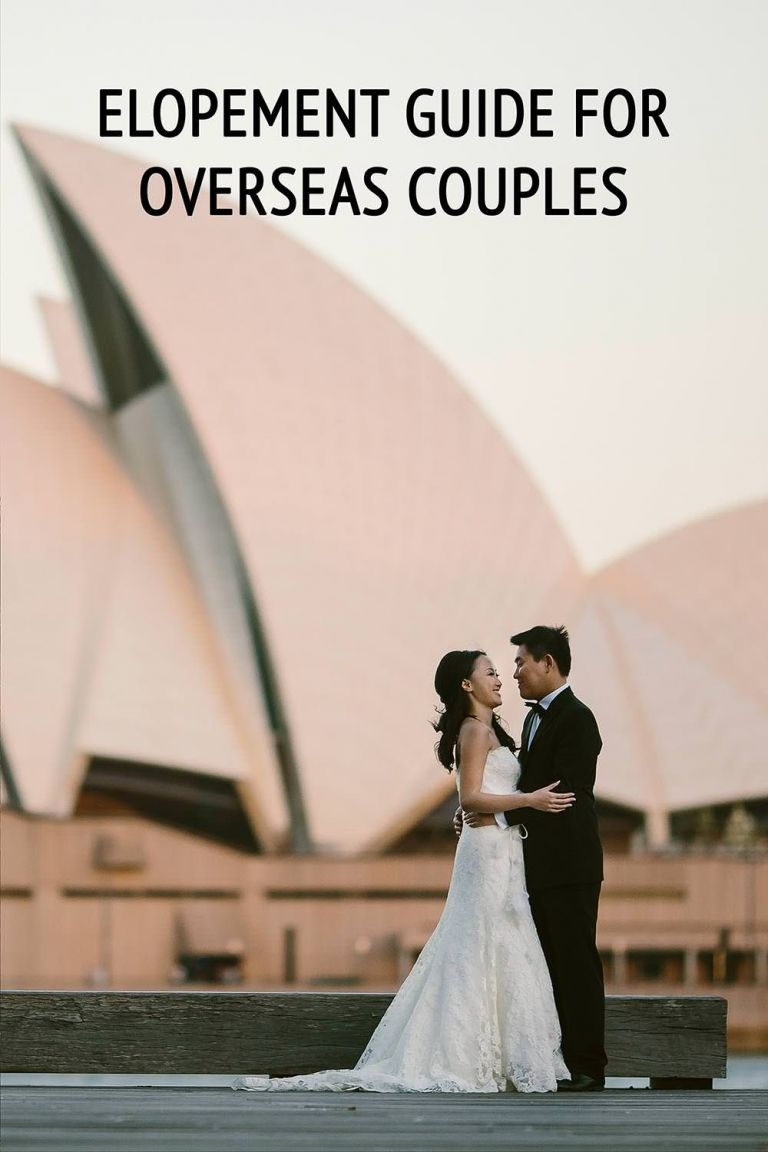 overseas couples elopement guide