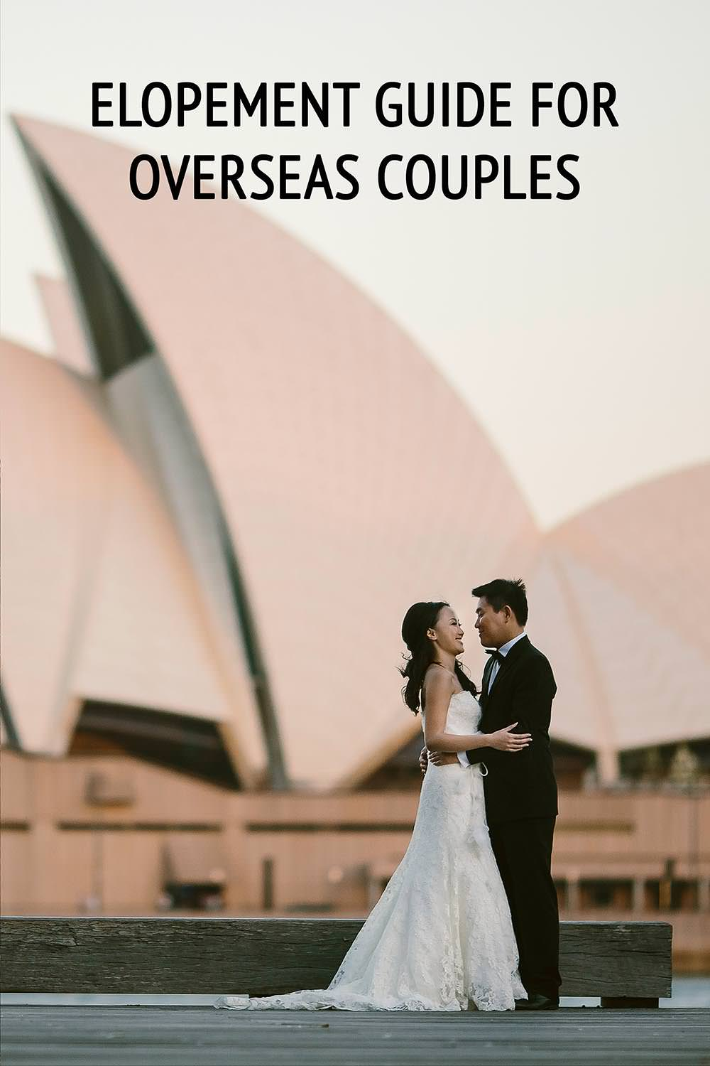 overseas couples elopement guide