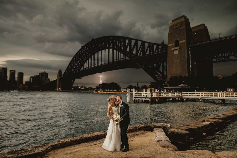 Captain Henry Waterhouse Reserve wedding free elopement ceremony locations in Sydney