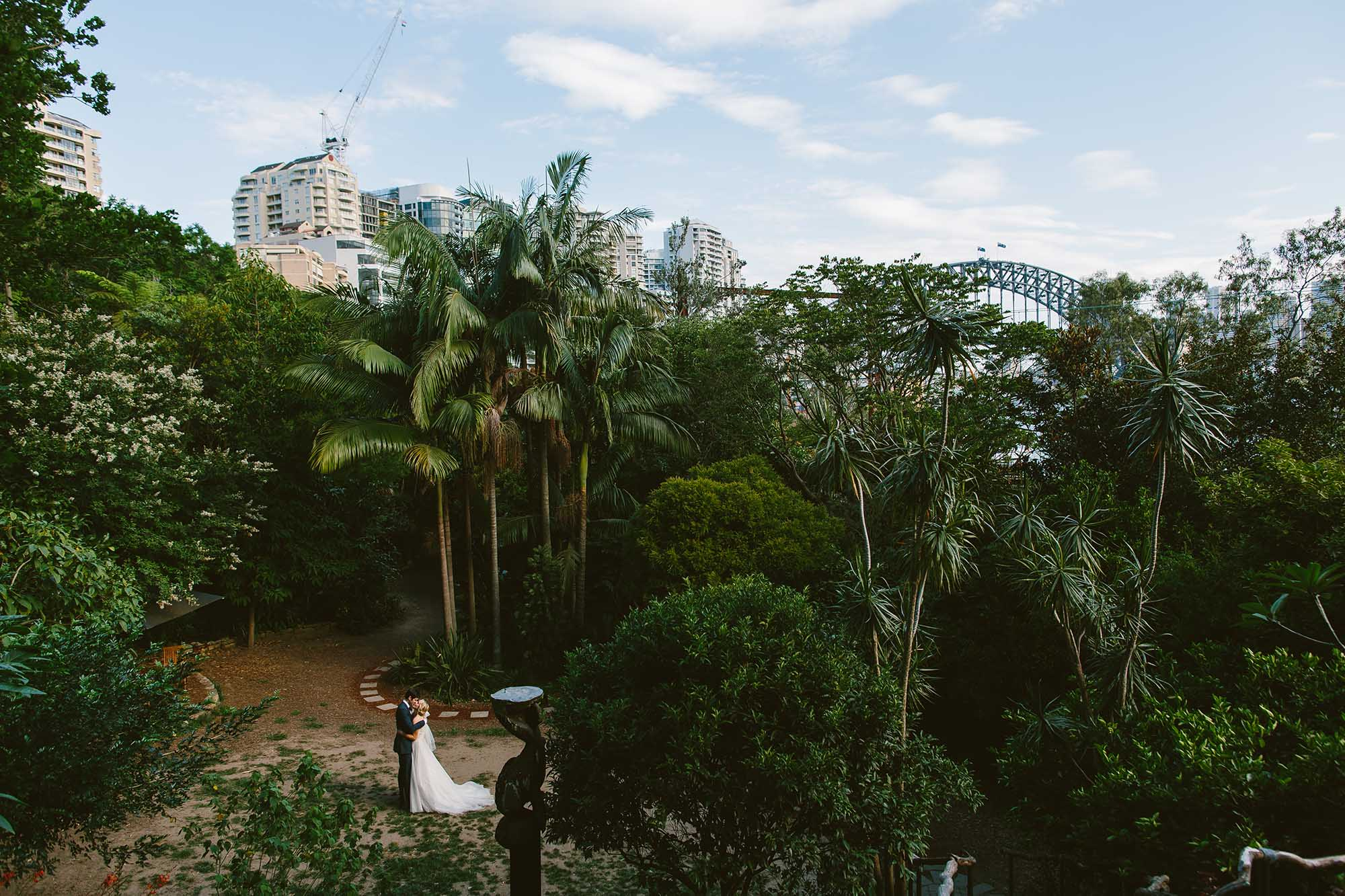 free elopement ceremony locations in Sydney