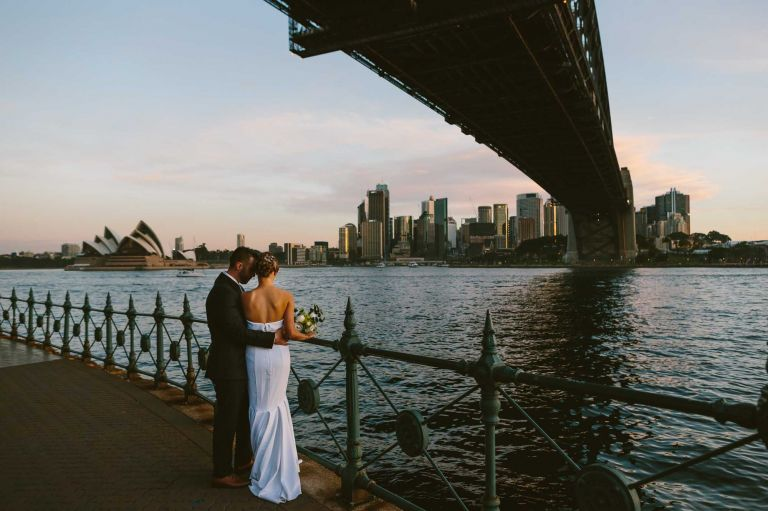 Intimate Sydney Elopement