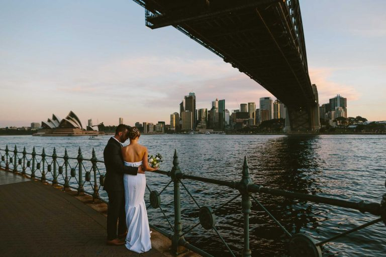 Intimate Sydney Elopement