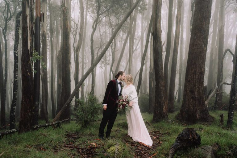 Misty Mount Donna Buang Elopement