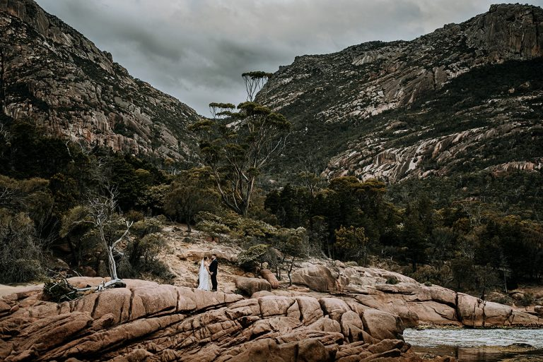 Freycinet Lodge Elopement Tasmania