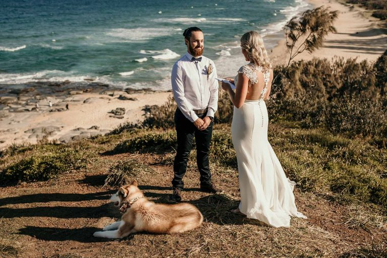 Beautiful Sunshine Coast Elopement