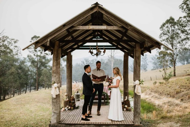 Intimate Hunter Valley Elopement