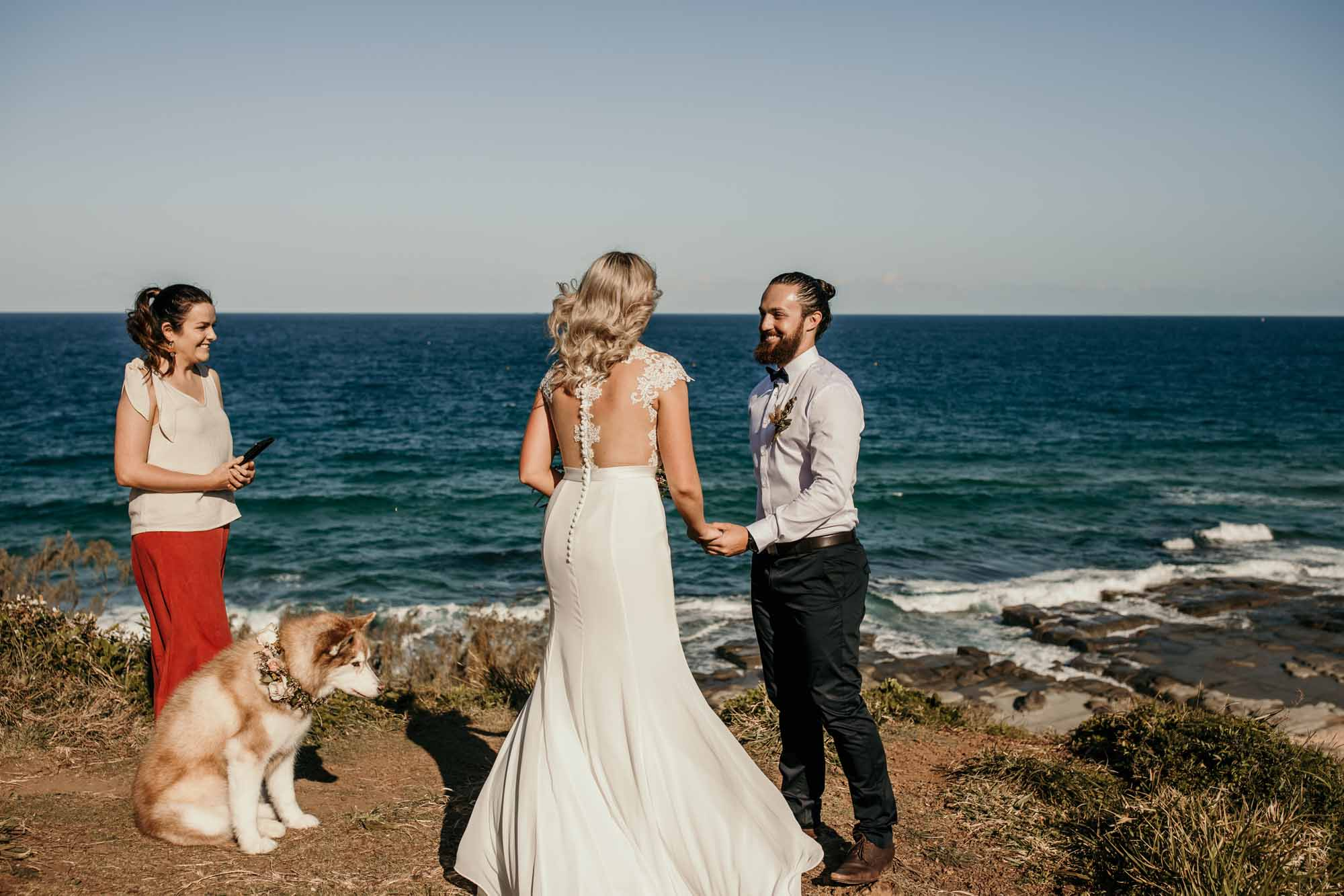 sunshine coast elopement