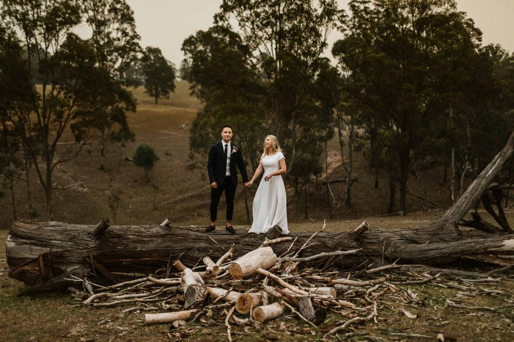 Hunter Valley elopement
