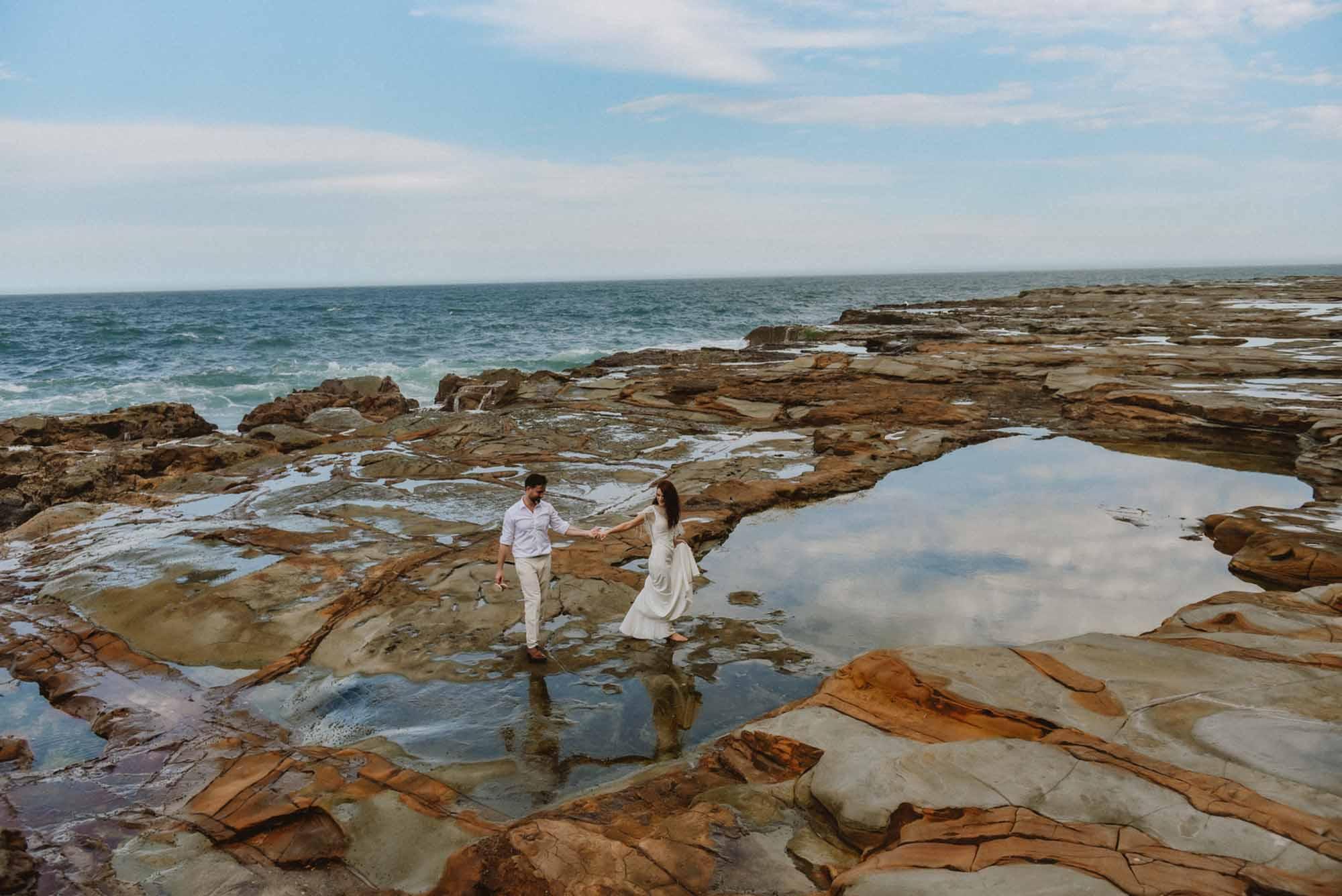 Avoca beach elopement