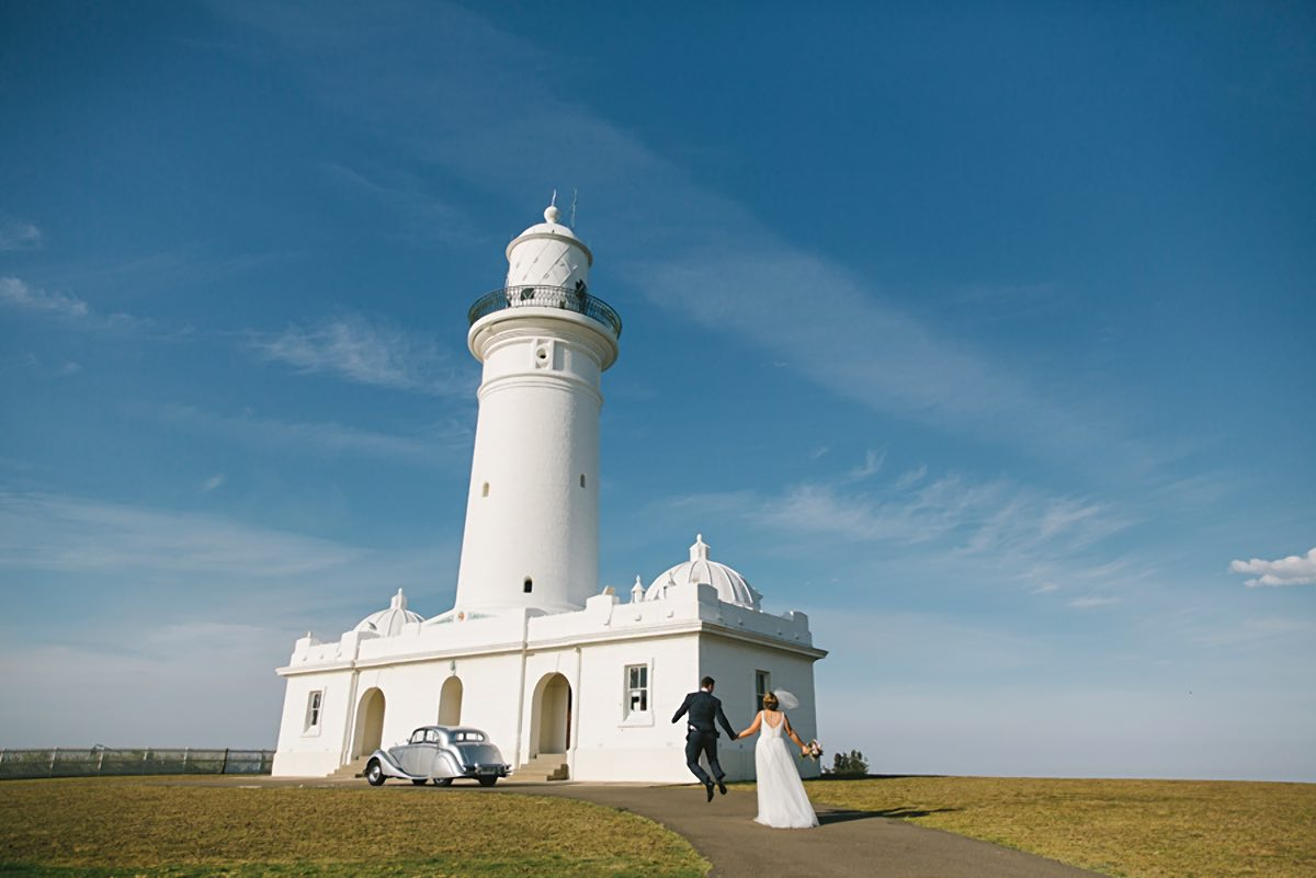 Macquarie lighthouse wedding location
